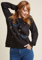 Sugarhill Boutique For a Good Cosmic Embroidered Pullover in 18 (UK)