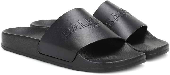 98fa6a35 Balmain Slides - ShopStyle