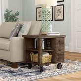 Laurèl Remy End Table with Storage Foundry Modern Farmhouse