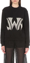 J.W.Anderson Logo-print cotton sweatshirt
