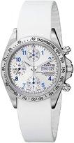 Fortis Men's 630.10.92 SI.02 Cosmonauts Chronograph Automatic Day and Date Silicone Strap Watch