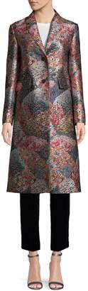 Valentino Floral Long Coat