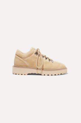 Nanushka Joan Suede Ankle Boots - Sand