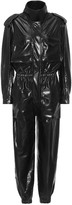 Thumbnail for your product : Norma Kamali Turtle stretch-patent jumpsuit