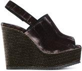 Castaner slingback wedge sandals