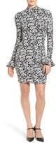 MICHAEL Michael Kors Women's Floral Bell Sleeve Dress