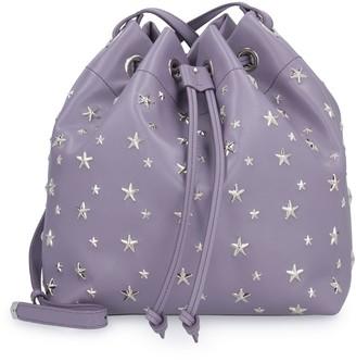 Jimmy Choo Juno Leather Bucket Bag