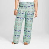 John Paul Richard JohnPaulRichard Women's Plus Size Printed fashion Pant Blue