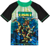 LICENSED PROPERTIES Boys Teenage Mutant Ninja Turtles Rash Guard-Preschool