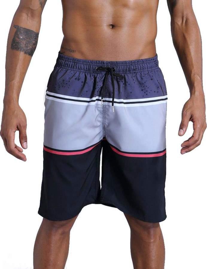 ef49108141 Mens Grey Green Swim Shorts - ShopStyle Canada