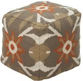 Surya Cotton Pouf Cube Ottoman
