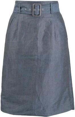 Vivienne Westwood Pre Owned 1980s Pinstripe Skirt