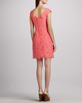 Lilly Pulitzer Rosaline Lace Cap-Sleeve Dress