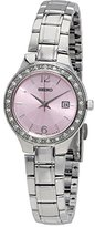 Seiko Women's Quartz Watch Analogue Display and Stainless Steel Strap SUR787P1