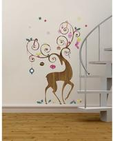 RoomMates 32 in. x 50 in. Ornamental Reindeer Peel and Stick Giant Wall Decals