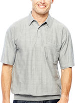 JCPenney Palmland Banded-Bottom Polo