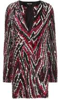 Tom Ford Sequin-embellished mini dress