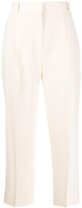 See by Chloe High-Rise Cropped Trousers