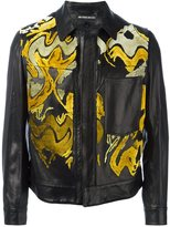 Ann Demeulemeester abstract pattern jacket