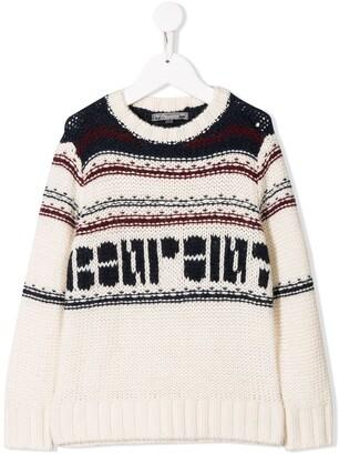 Bonpoint Logo Knit Sweater