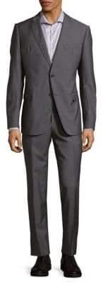 Armani Collezioni Notch Lapel Wool Suit