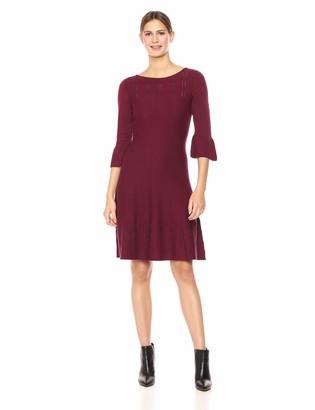 Nic+Zoe Women's Illusion Twirl Dress