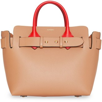 Burberry The Small Tri-tone Leather Triple Stud Belt Bag
