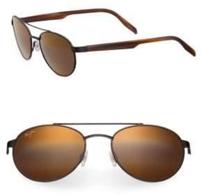 Maui Jim Upcountry Aviator Sunglasses
