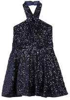 Milly Minis Girl's Sydney Sequin Halter Dress