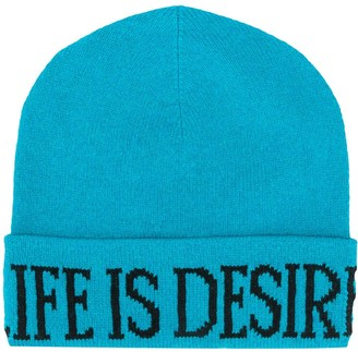 Alberta Ferretti Life Is Desire knitted beanie