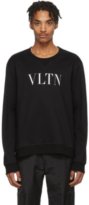 Valentino Black and White VLTN Sweatshirt