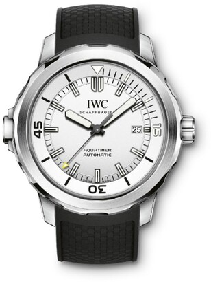 IWC SCHAFFHAUSEN Stainless Steel Aquatimer Watch 42mm