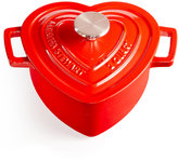 Martha Stewart Collection Enameled Cast Iron 2-Qt. Heart-Shaped Casserole