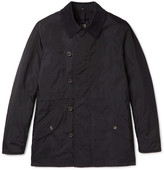 Dunhill - Corduroy-trimmed Water-resistant Shell Jacket