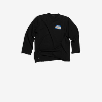 Balenciaga My Name Is Demna Long Sleeve T-shirt