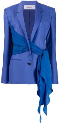 Chalayan wrap blazer jacket