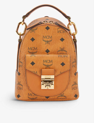 MCM Patricia coated canvas backpack