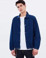 Mng Medium Wash Denim Jacket