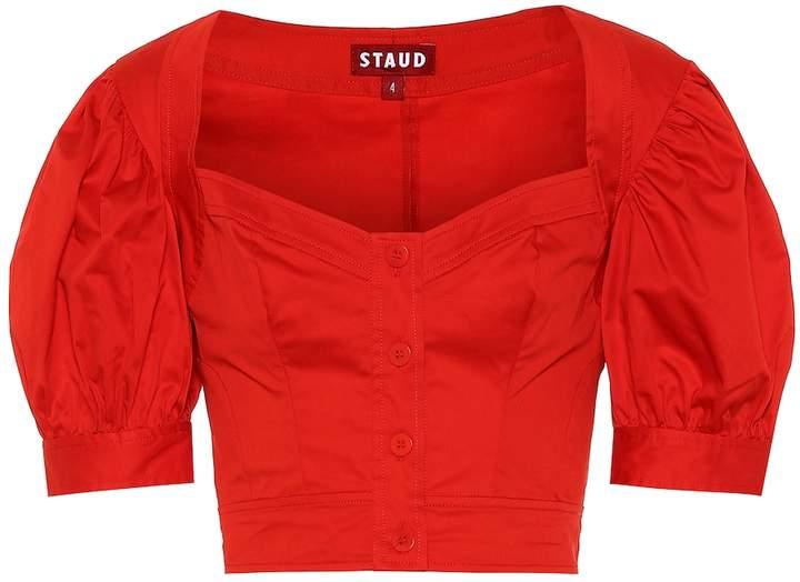 STAUD Rene cotton top