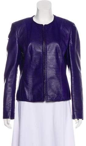 Basler Leather Casual Jacket