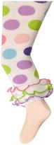 Jefferies Socks Dot & Stripe Multi Ruffle Footless Tights (Infant/Toddler/Little Kid/Big Kid)