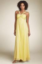 Silk Empire Waist Gown