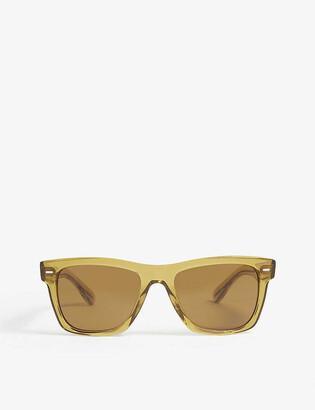 Oliver Peoples Oliver rectangle-frame sunglasses