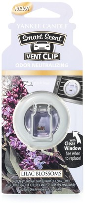 Yankee Candle Smart Scent Lilac Blossoms Car Air Freshener Vent Clip