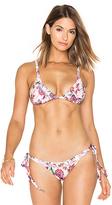 Beach Riot Lilly Bikini Top in White. - size S (also in )