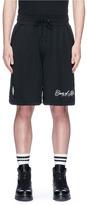 Marcelo Burlon County of Milan 'Yatel' logo print shorts