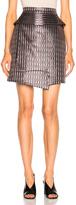 Carven Striped Mini Skirt