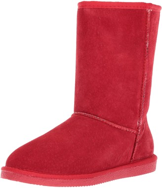 "Lamo Classic 9"" Boot Rich Suede Upper Red"