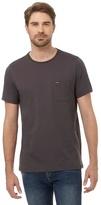 Animal Grey Chest Pocket Print T-shirt