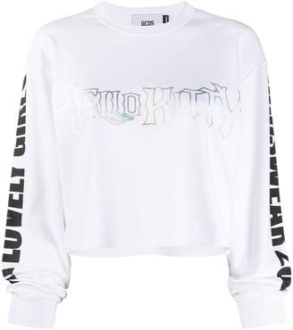 GCDS Cropped Sweatshirt